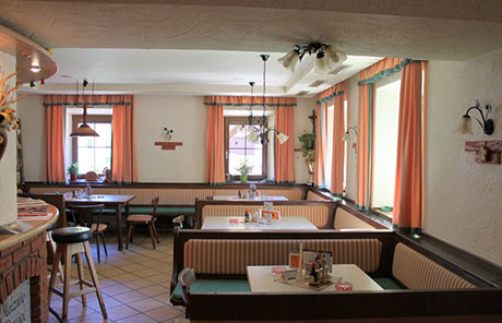 Petermuehle Cafe Restaurant Losenstein Innen